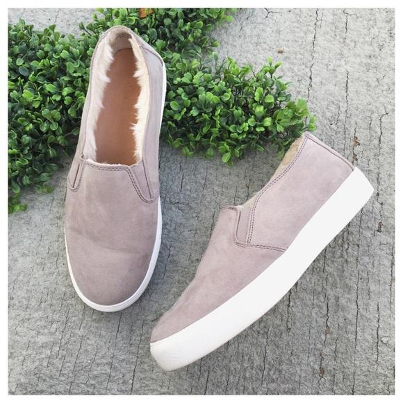 LOFT Shoes   Loft Faux Fur Lined Slip